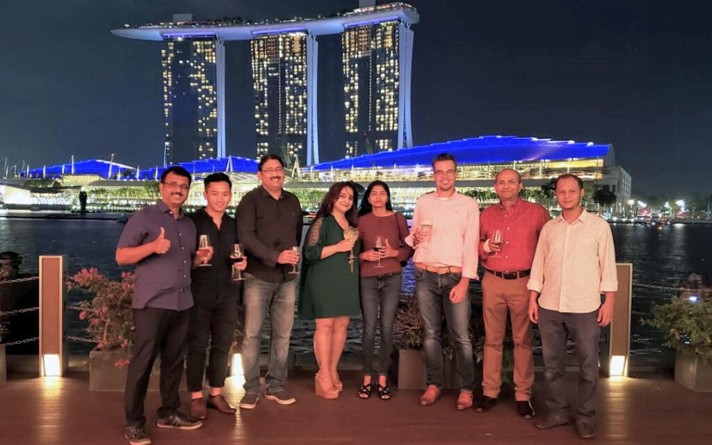 Intuit Singapore team meet 2019