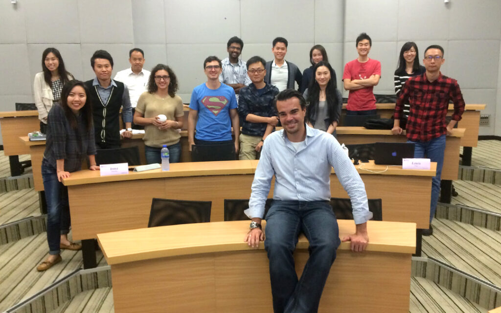Marc at HKUST guest lecture
